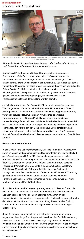 Schweriner Volkszeitung Stellenangebote